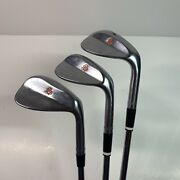 Scratch Golf Wedge Set 50, 56, 60 Degree Right Hand - 8620 Ds - Kbs Tour Shafts