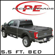 Pace-edwards Ultragroove Metal Tonneau Cover Kit Fits 15-20 F-150 5.5ft Bed