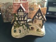 David Winter Cottages Collectors Guild Will-o-the Wisp No.10 Autumn 1991 Boxed