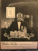 Walkers Deluxe Bourbonspecially Elegant, Uncommon1953 Vintage Print Ad B08