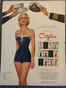Catalina Bathing Suitslovely Things Happen To You1955 Vintage Print Ad A96