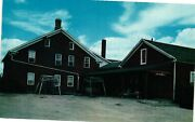 Vintage Postcard - Old Wood Shed And Dining Room Entrance Ox Yoke Inn Iowa 5777