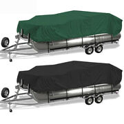 17-20ft 21-24ft Heavy Duty Boat Cover 210d Waterproof Uv Protection Trailerable