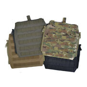 Delustered Crye Cp Molle Zip-on Panel For Jpc Cpc Avs Military Molle Zipper P044