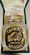 Caswell Massey Cologne Bottle Collectible Vintage