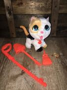 Furreal Poopalots Big Wags Interactive Kitty Hasbro - Pooping Cat Toy Complete
