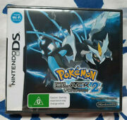 Pokemon Black Version 2 Nintendo Ds 3ds Aus - Brand New And Sealed Y-fold