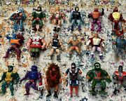 Masters Of The Universe Huge Lot Original Figures Playsets Weapons Accessories