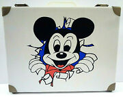 Mickey Mouse Suitcase Small Size Vintage Walt Disney Productions West Germany