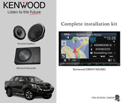Kenwood Dnx9190dabs Stereo Speakers And Subwoofer Package For Mazda Bt50 2012-2017