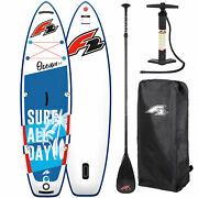 F2 Ocean Kids Boy 8and039 2and039and039 Sup Stand Up Paddle Board Boys Isup Children I-sup Blue