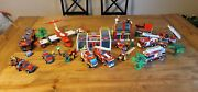 Lego Fire Station Trucks And Plane Lot