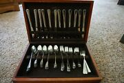 Supreme Cutlery By Towle18 10 Stainless Steel Flatware Set Service For 11+ Used