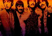 The Beatles John Paul Ringo George Large Canvas Picture Wall Art