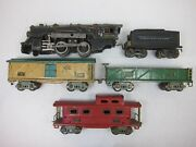 American Flyer Pre-war O Freight Set Set-restoration Project-free Shipping