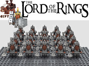 Lord Of The Rings Hobbit Dwarf Axe Army 22 Minifigures Kids Toy Xmas Gifts Lotr