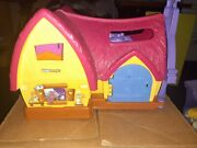 2012 Fisher-price Little People Snow White And The Seven Dwarfs Cottage Playset