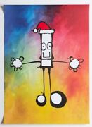 My Dog Sighs / Christmas Signed Print / Ltd Edition /250 / Sold Outandnbsp
