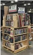 Book Shelf Unit Cabinet X2 On Pallet Freight Convention Display Trade Show
