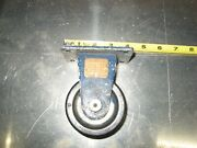 Darnell Heavy Duty Industrial Casters 4 Tall. Usa Made New Old Stock