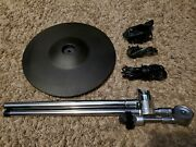 Roland Cy-12r/c V-drum Ride W/ Cymbal Boom Arm, Rack Clamp And 2 Cables Cy Aa107