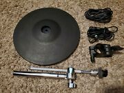 Roland Cy-12r/c V-drum Ride W/ Cymbal Arm, Rack Clamp And 2 Cables Cy Gg104