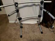 Roland Mds-6 V-drum Rack Silver With Brace 1.5in Tubing Mds-6sl 6sl Cc100