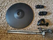 Roland Cy-13r V-drum Ride W/ Boom Cymbal Arm, Rack Clamp And 2 Cables Cy 13 Dd103