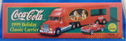 Coca Cola Classic Carrier 1999 Holiday 0643618275226