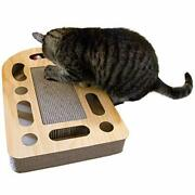 Cat Scratcher Reversible Panels Corrugated Cardboard Wall Mounted Vertical