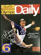 Dominique Dawes Signed Sports Illustrated 7/24/96 No Label Olympic Gold Auto Jsa