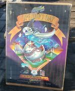 1998 Tampa Bay Devil Rays Opening Day Inaugural Game Poster Detroit Tigers A