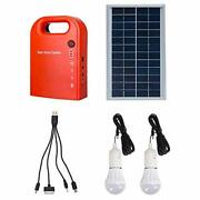 Portable Home Outdoor Generation System Small Dc Solar Panels Lighting Charging