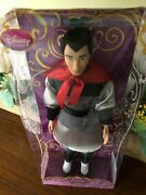 Disney Store Classic 12andrdquo Li Shang Doll With Rooted Hair From Mulan Nrfb