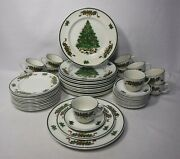 Johnson Brothers China Victorian Christmas 48-piece Set Service For 12