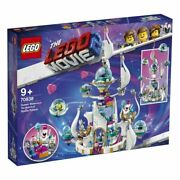 Retired lego Movie 2 Queen Watevraand039s So-not-evil Space Palace 70838 Msrp 149