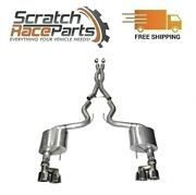 Corsa Cat-back Exhaust System With Quad Rear Exit For 15-17 Mustang 304 Ss 14335