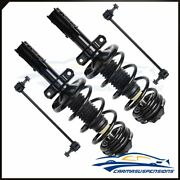 Fits Saturn Ion 2005 2006 2007 Front Quick Strut Assembly+outer Tie Rod End Link