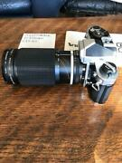 Nikon Slr Film Camera With Zoom Lens From Japan