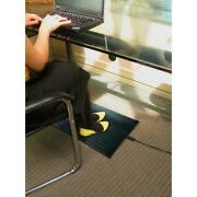 Foot Warmer Mat Electric Keep Feet Warm Cold Floors Home Office Space Heater New
