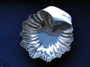Shell Dish Sterling Silver London 1908 Antique Dish Great Shape Nice Marks