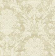 Antique Bouquet Wallpaper In Luster Dv51105 From Wallquest