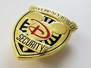 Walt Disney World Resort Security Division Rare Mickey Mouse Officerand039s Badge