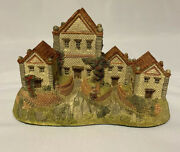 Alms Houses By David Winter 1983 Hand Made With Coa