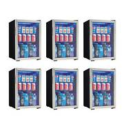 Danby 95 Can 2.6 Cu. Ft. Free Standing Beverage Center, Stainless Steel 6 Pack