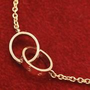 Baby Love Necklace Free Gift Wrapping Rank Secondhand _6707