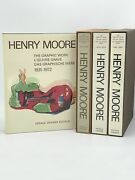 Gerald Cramer / Henry Moore Catalogue Of Graphic Work 1931-1972 Signed 1st Ed
