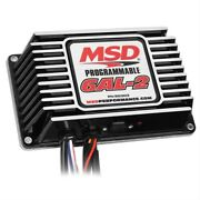 Msd Ignition Programmable Digital 6al-2 Black Ignition Boxes 65303 Free Shipping