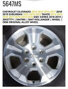 18andrdquo Oem Chevy Wheels And Tires Used In Good Condition Quantity Of 4