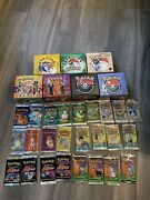 Empty Pokemon Base Jungle Fossil Team Gym Booster Boxes 25 Empty Packs Lot Wotc